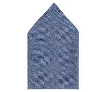 Taschentuch '28 Square' blaumeliert