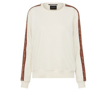 Pullover 'Crew neck sweat with 'Maison Scotch' tape'