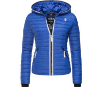Steppjacke royalblau