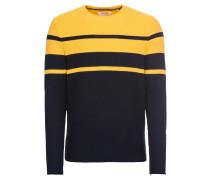 Pullover dunkelblau / gelb