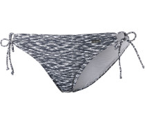 "Bikini-Hose ""Melange"" schwarz / weiß"