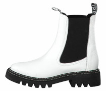 Chelsea Boots weiß