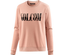 'sound Check' Sweatshirt Damen altrosa
