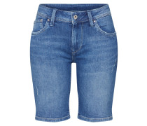 Shorts 'poppy' blue denim
