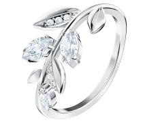 Ring 'Mayfly 5448899' silber / weiß