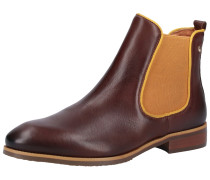 Chelsea Boots 'Royal' braun / apricot