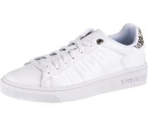 Sneaker 'Court Frasco' schoko / weiß