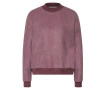 Sweatshirt 'Wea' weinrot