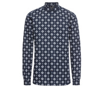 Hemd 'printed Shirt With A Classic Collar'