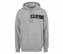 Kapuzensweatshirt 'bend Hooded Sweat' grau