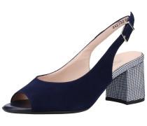 Sandalen nachtblau / weiß