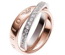 Ring 'eg3123221' rosegold / silber