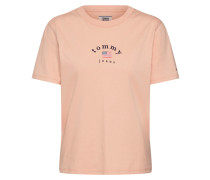 Shirt 'essential Americana' pfirsich