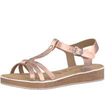 Sandale 'glow' gold / rosé