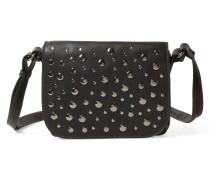 Überschlagtasche 'Soraya' schwarz