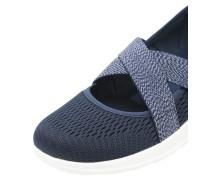 Sneaker 'GO Walk Lite' mit Riemen navy