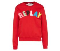 Sweatshirt Logo rot