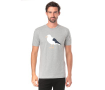 T-Shirt 'Gull 3' grau