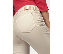 Gerade Jeans 'Angela' beige