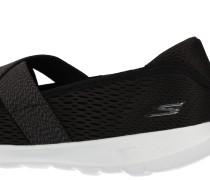 Sneaker 'GO Walk Lite' mit Riemen schwarz