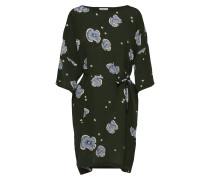 Kleid 'Josefine' rauchblau / tanne