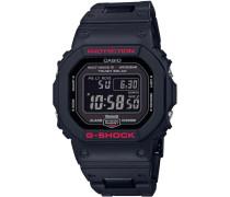 Smartwatch 'gw-B5600Hr-1Er' rot / schwarz
