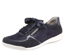 Sneaker 'rom' mit Satinschleife blau