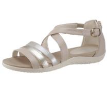 Sandale 'Donna Sandal Vega' beige / silber