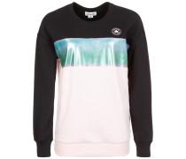 Shine Pack Blocked Oversized Crew Sweatshirt
