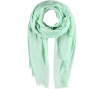 Modal-Lurex Schal grün