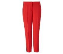 Trackpants rot / schwarz