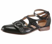 Sandale 'Sally' schwarz
