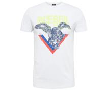 Shirt 't-Diego' mischfarben / weiß