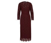 Kleid 'Lace Evening Dress' merlot