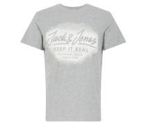 Shirt hellgrau / weiß