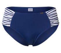 Bikinihose 'marine' weiß / blau