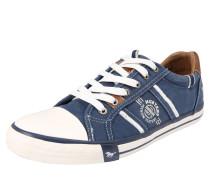 Sneaker blue denim / karamell / weiß