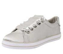 Textil-Sneaker mit breiten Schnürsenkeln