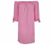 Strandkleid pink / weiß