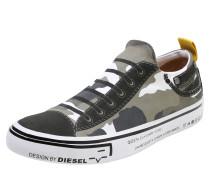 Sneaker 'imaginee' khaki / weiß
