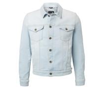 Jeans-Jacke hellblau
