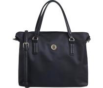 Handtasche 'Poppy' schwarz