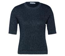 Shirt 'Malina' blau / silber