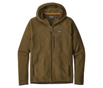Performance Better Fleecejacke braun