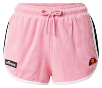 Shorts 'Azul' weiß / pink / schwarz