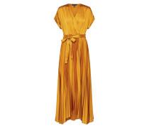 Kleid 'WW GO Satin Midi Dress' gelb