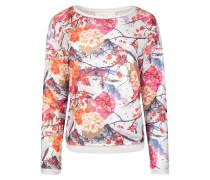 Sweatshirt 'Holly' creme / mischfarben