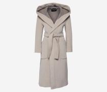 Mantel 'castoro' beige / grau
