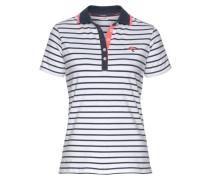 Poloshirt marine / weiß
