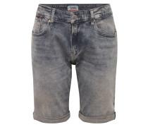 Jeansshort 'ronnie' grey denim
